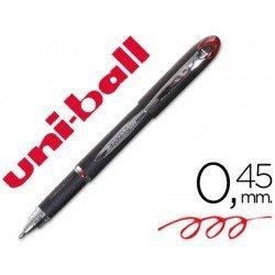 Rotulador-Bolígrafo roller Uni-Ball rojo SX-210 0,4 mm Jet Stream