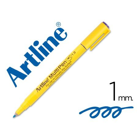 Rotulador Artline Multipen EMP-1 azul