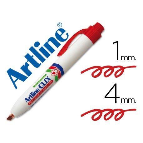 Rotulador Artline Clix color rojo 4mm
