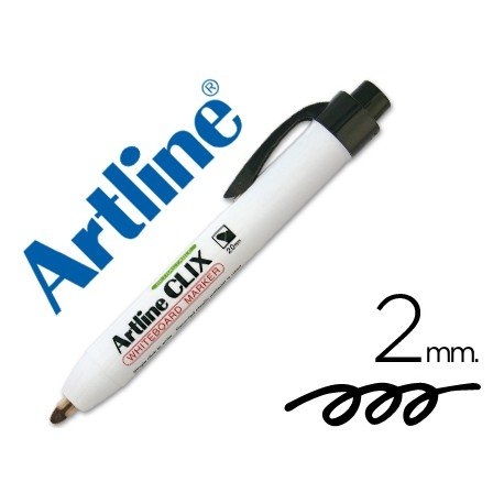 Rotulador Artline Clix color negro 2mm