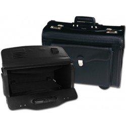 Portadocumentos Maletin Csp Negro 490x350x225 mm Con ruedas