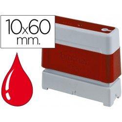 Sello Automatico marca Brother 10 x 60 rojo
