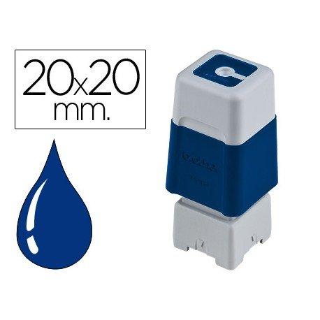 Sello Automatico marca Brother 20 x 20 azul
