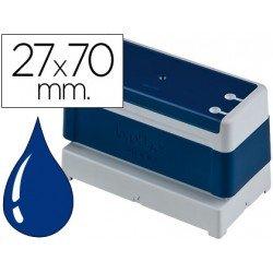 Sello Automatico marca Brother 27 x 70 azul