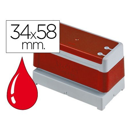 Sello Automatico marca Brother 34 x 58 rojo