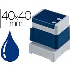 Sello Automatico marca Brother 40 x 40 azul