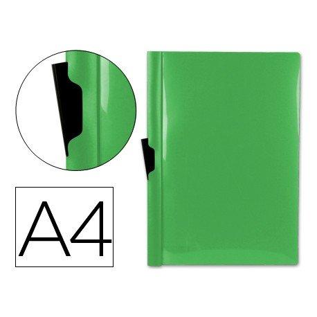 Carpeta dossier con pinza lateral Beautone Din A4 60 hojas color verde