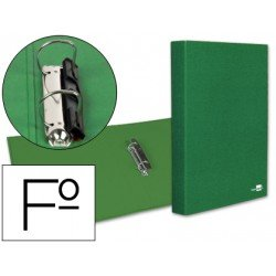 Carpeta 2anillas 25mm Folio marca Liderpapel Verde