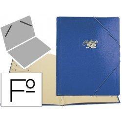 Carpeta clasificadora de carton compacto Saro 275x360 mm azul