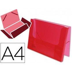Carpeta de lomo rigido Beautone Din A4 rojo