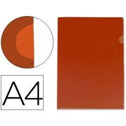 Funda dossier uñero Din A4 color rojo