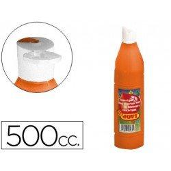 Tempera liquida Jovi color naranja 500 cc