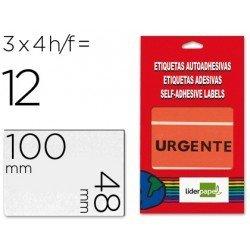 Etiqueta Urgente marca Liderpapel