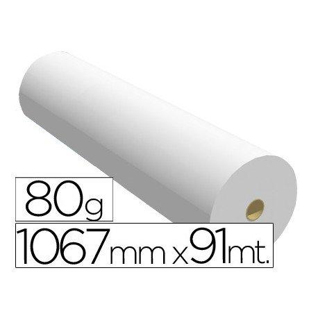 Papel reprografia plotter de 80 g/m2