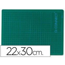 Plancha para corte Q-Connect Din A4 pvc