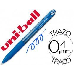Boligrafo uni-ball Lacknock SN-100 azul retractil