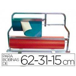 Portarrollos de mostrador acero pintado 62-31-15 cm