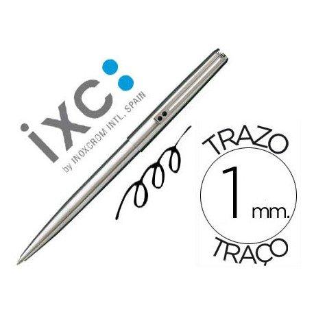 Boligrafo Inoxcrom 77-M azul 1 mm