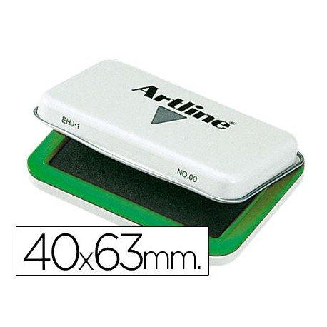 Tampon marca Artline Nº 00 verde