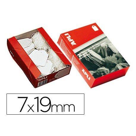 Etiquetas colgantes marca Apli 383 7 x 19 mm