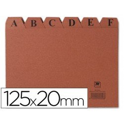Indice fichero marca Liderpapel N4 carton