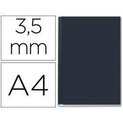 Tapa de Encuadernación Cartón Leitz DIN A4 Negra 10/35 hojas