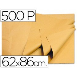 Papel manila 62x86 cm color crema 1 resma