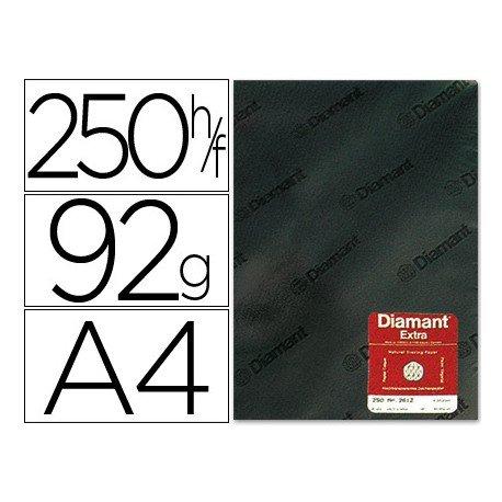 Papel vegetal Diamant A4 gramaje 92g/m2 hoja