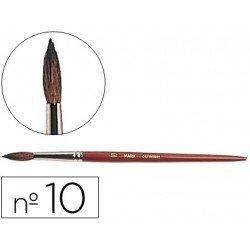 Pincel acuarela Liderpapel Nº 10 madera