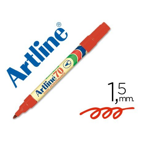 Rotulador permanente Artline 70