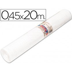Aironfix Rollo Adhesivo 45cm x 20mt Unicolor blanco 100 MC