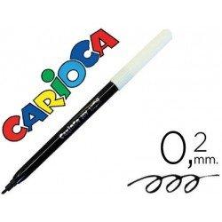 Rotulador Carioca fino color negro