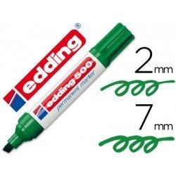 Rotulador Edding 500 Verde