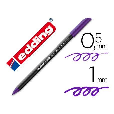 Rotulador Edding 1200 violeta nº 8