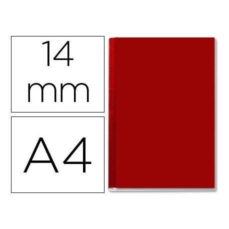 Tapa de Encuadernación Cartón Leitz DIN A4 burdeos 106/140 hojas