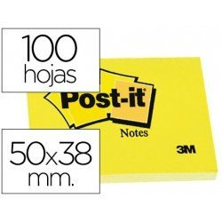 Bloc de notas adhesivas quita y pon Post-it ®