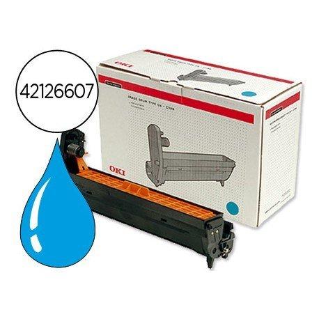 Tambor OKI cyan -17000 pag- (42126607) C5100 C5200 C5300 C5400