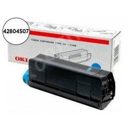 Toner OKI cyan -3000 pag type- c6 (42804507) C5200 C5400