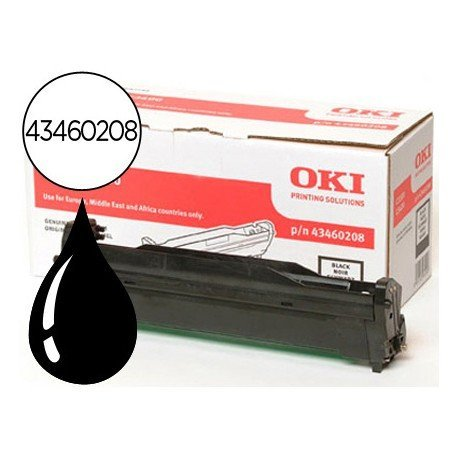 Tambor OKI negro -15000 pag- type c9 (43460208) C3300 C3400