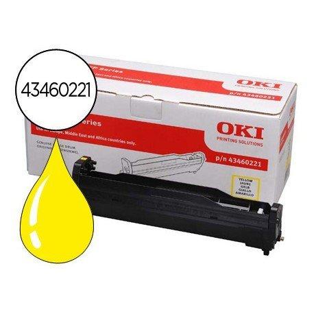 Tambor OKI amarillo -15000 pag- type c10 (43460221) C3520 C3530
