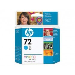 Cartucho HP 72 color cian C9398A