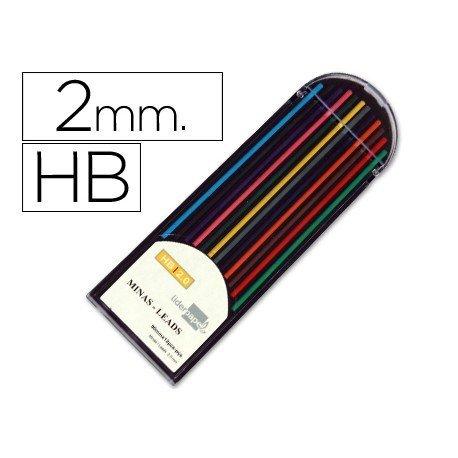 Minas Liderpapel colores surtidos 2 mm