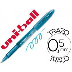 Boligrafo Borrable Uni-ball UF-202 Fanthom color azul claro 0,5 mm