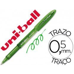Boligrafo Borrable Uni-ball UF-202 Fanthom color verde 0,5 mm