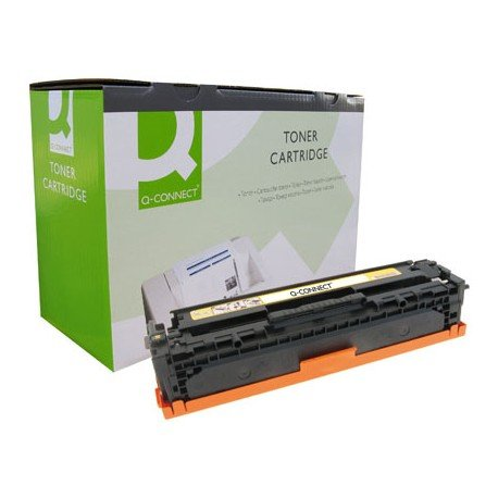 Toner compatible HP CB543A color amarillo