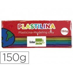 Plastilina Liderpapel color rojo mediana