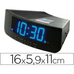 Reloj digital marca Daewoo led azul