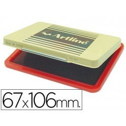 Tampon Artline EHP-3 color rojo