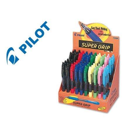 Expositor boligrafo Pilot super grip
