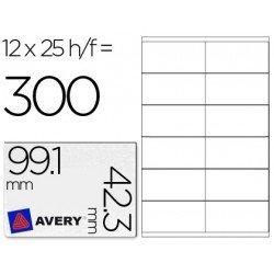 Etiqueta adhesiva marca Avery 99,1 x 42,3 mm